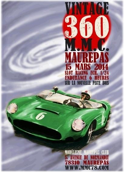 Affiche de la Vintage 360 de slot du MMC